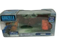 Godzilla King of the Monsters RODAN Action Figure w Osprey Helicopter 9 Pieces $12.79