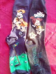 New THE FLINTSTONES Mens 2 Pair Novelty Socks  $7.99