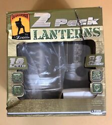 Portable Outdoor Lanterns LED Outdoorsman by i Zoom NIB Battery Powered $12.50