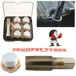 Oil Sump Repair Kit M22 x 1.5 Tap  6 Drain Plugs  12 Copper Washers  5230 $66.69