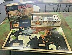 Axis & Allies Gamemaster Series Board Game 1987 MB Complete $50.00