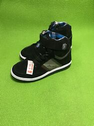 Buckler Brand Kids Boys High Tops Sneakers Shies Made In Mexico Size 11.5 $15.00