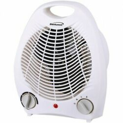 Brentwood Appliances H-F302W Portable Electric Space Heater and Fan White $40.99