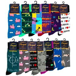 Fashion Novelty Funny Unisex Socks Size 10 13 Men Shoe 6 12.5 Women Shoe 10 13 $5.94