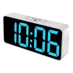 DreamSky 8.9 Inches Large Digital Alarm Clock with USB Charging Port Fully  $29.44
