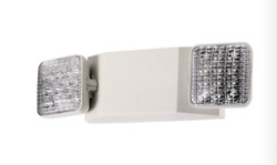 LED Emergency Exit Light Battery Backup amp; Adjustable Two Heads UL 924 Listed $18.99