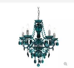 Modern Dark Green Chandeliers Crystal Bedroom Pendant Lamp Ceiling Lights $150.00