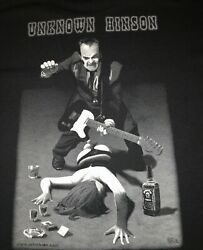 NEW Signed UNKNOWN HINSON Party Girl Shirt XL Front Pocket $35.00