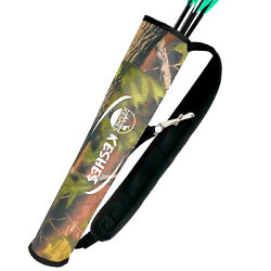 Archery Back Arrow Quiver Holder with Belt Clip Adjustable for Bow Hunting $9.99