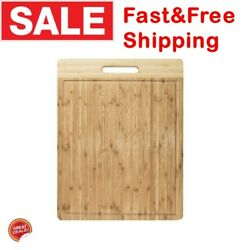 Extra Large Cutting Board Butcher Bamboo Commercial Kitchen Wood Big Long Xl New $23.55