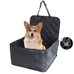 Pet Bucket Seat Cover 2 in 1 Deluxe Dog Cat for Car Non Slip Backing Waterproof $19.99
