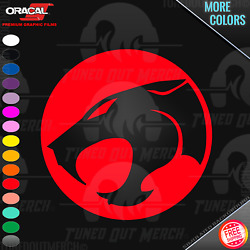 Thundercats Logo Easy Peel amp; Stick Detailed Car Truck Window VINYL DECAL STICKER $4.49