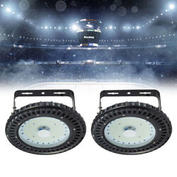 2 x 150W UFO LED High Bay Light Warehouse Fixtures Industry Commercial Shed Lamp $79.19