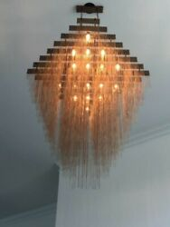 Chains Custom Chandelier By Prestige Chandelier