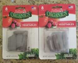 Jobes Organic Fertilizer Gardening Spikes For Bountiful Vegetables Made In USA $9.95