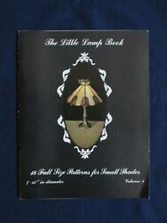 The Little Lamp Book Volume 1 by Marianne Warner 18 Patterns for Small Shades $4.50