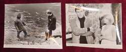 "1967 Movie Stills ""It!"" Golem and Horror Sci-Fi Roddy McDowall Photographs TWO"