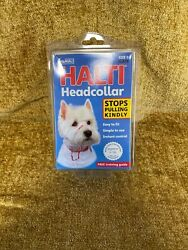 Halti DOG Headcollar Black Size 0 Yorkie Toy poodle min dachshund -black $12.00