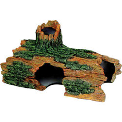 Blue Ribbon Pet Purple Exotic Environments Hollow Log Large 030157007867