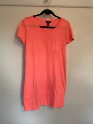 GAP Coral Colored Sundress Dress- Medium- Fast Ship!