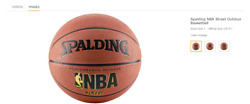 """NBA Street Spalding Outdoor Basketball Authentic 28.5"""" BRAND NEW $19.00"""