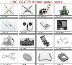 JJRC X6 GPS RC Quadcopter drone Spare Parts blade motor body shell Flight $28.99