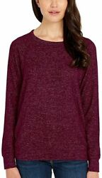 Buffalo David Bitton Women#x27;s Long Sleeve Cozy Top $14.99