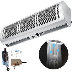 Door Air Curtain 2 Speeds Air Curtain Commercial 24 Inch w 2 x Limit Switch
