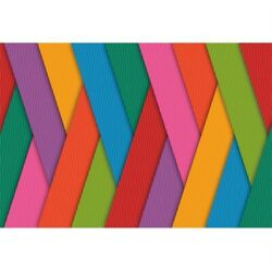 7x5ft Vinyl Rainbow Colorful Stripe Banners Photography Background Backdrop Prop $17.20