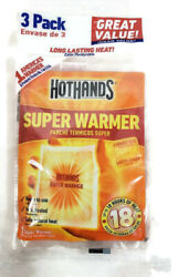HotHands Body & Hand Super Warmers Up to 18 Hours of Heat 3 Individual Warmers  $4.49
