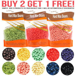 Hard Wax Beads Beans For All Waxing Types Depilatory Hair Removal Warmer Heater $4.99