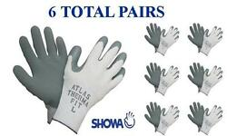 Showa 451 Atlas Therma Fit Insulated Winter Work Glove 6 PAIR Choose MDLGXL $22.45