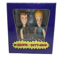 TikTok Beavis and Butt Head Mega Mini Kit 2012 Action Figures w 40 pg book $16.00