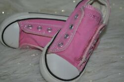CONVERSE All Star TODDLER GIRLS Pink Slip On Shoes Sneakers SIZE 8 $14.78