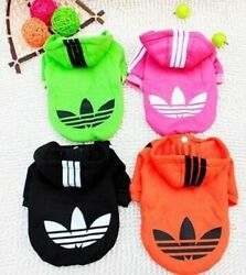 Hooded Sweatshirt Dog Cat Clothes Warm Hoodie Coat Jacket NEW SMALL Dogs or Cats $8.49