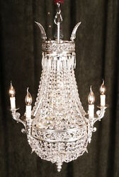 Special Basket Chandeliers IN Antique Style of The BiedermeierClassicism