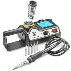 WEP 927-I-ST Soldering Iron Station w/5 Extra Tips - ESD Safe $29.80