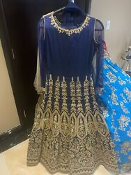 Indian Pakistani Women Party Wear Long Dress. $79.00