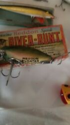 Vintage Collectibles Fishing Tackle Box Lures amp; Accessory Lot Filled w Stuff $500.00