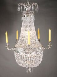 Classical Basket Chandeliers IN Empire Style