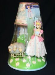 TOY STORY 4 BO PEEP SHEEP DESK TABLE LAMP LIGHT & REMOVABLE FIGURE DOLL NEW 2019 $59.99