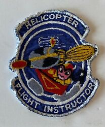 Helicopter Flight Instructor Patch USAF 3630th Flying Training Wing Circa 1961 $44.95