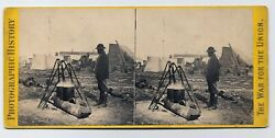 U S Civil War Army of Potomac African-American Negro Black Cook Anthony 1860s SV