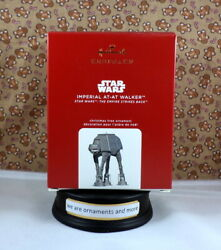 2020 Hallmark Metal Ornament Star Wars Imperial At-At Walker Empire Ornament NEW