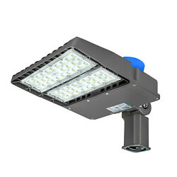 2 Pack 26000LM LED Street Light Commercial Parking Lot Lamp Outdoor IP65 200W