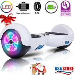 6.5 Hoover board Chrome Hoverboard Electric Balancing no Bluetooth Scooter nobag $110.99