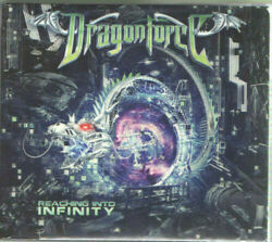 HEAVY METAL DragonForce - Reaching Into Infinity CD + DVD Digipak U.K. Power  $5.99