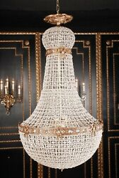 Basket Chandeliers IN Biedermeier Style