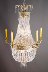 Classical Basket Chandeliers Ceiling Chandelier Chandelier in Empire Style
