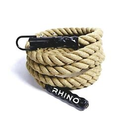 Outdoor Exercise Gym Climbing Rope with Hook for Cross Fitness Strength Workout $34.95